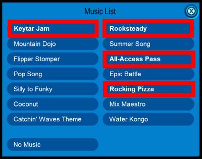 new music list